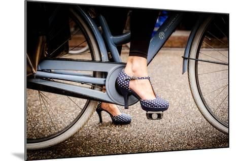 Polka Dot Heels-Erin Berzel-Mounted Photographic Print