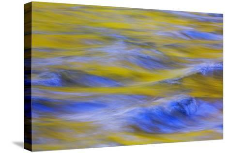Sunrise on Icicle Creek II-Kathy Mahan-Stretched Canvas Print