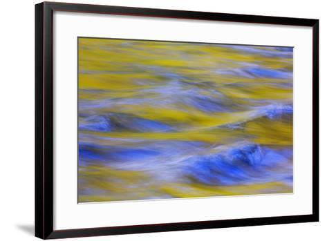 Sunrise on Icicle Creek II-Kathy Mahan-Framed Art Print