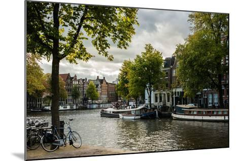 Amsterdam Canal III-Erin Berzel-Mounted Photographic Print