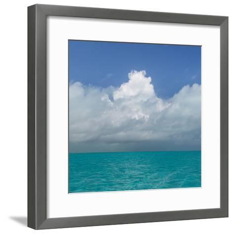 Tropical Seascape II-Kathy Mahan-Framed Art Print