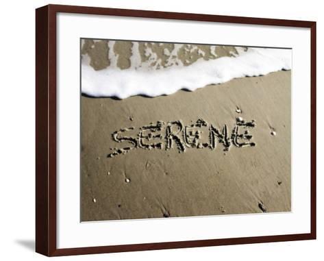 Serene-Alan Hausenflock-Framed Art Print