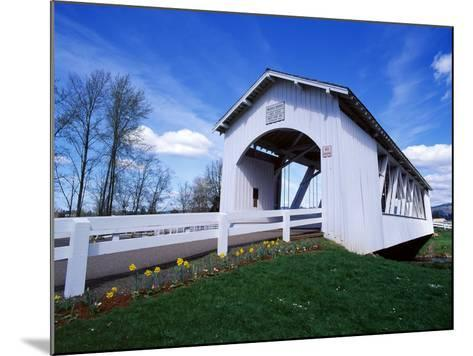 Weddle Covered Bridge-Ike Leahy-Mounted Photographic Print