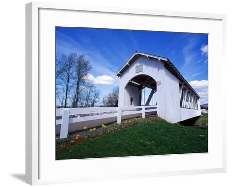 Weddle Covered Bridge-Ike Leahy-Framed Art Print