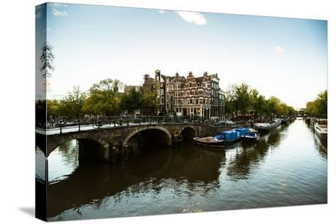 Brouwersgracht Canal-Erin Berzel-Stretched Canvas Print