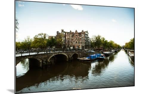 Brouwersgracht Canal-Erin Berzel-Mounted Photographic Print