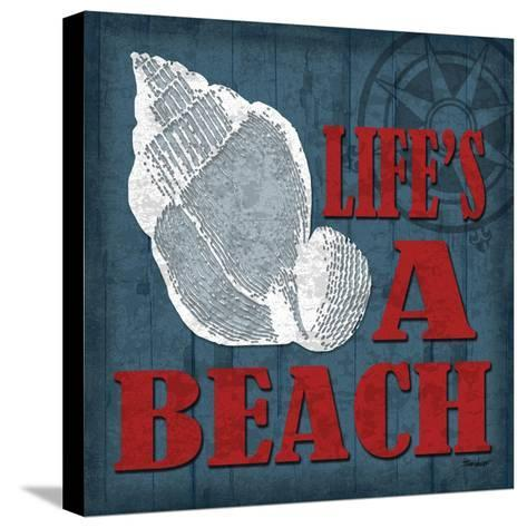 Life's a Beach-Todd Williams-Stretched Canvas Print