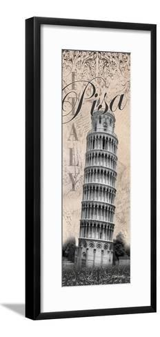Leaning Tower-Todd Williams-Framed Art Print