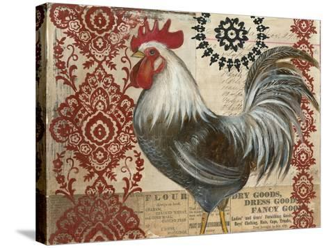 Classic Rooster II-Kimberly Poloson-Stretched Canvas Print