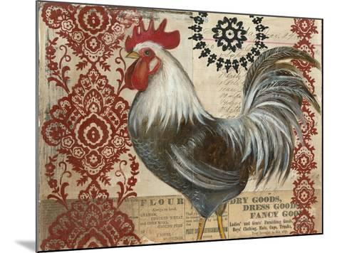 Classic Rooster II-Kimberly Poloson-Mounted Art Print
