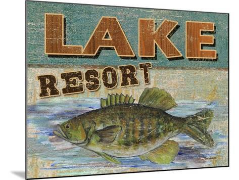 Lodge Get-a-Way-Todd Williams-Mounted Art Print