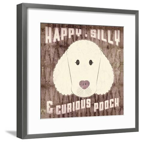 Poodle-Ashley Sta Teresa-Framed Art Print