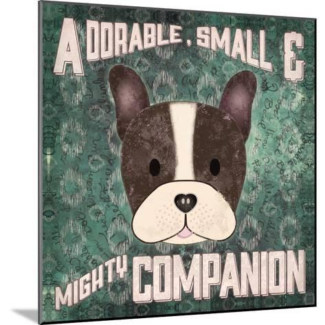 Boston Terrier-Ashley Sta Teresa-Mounted Art Print