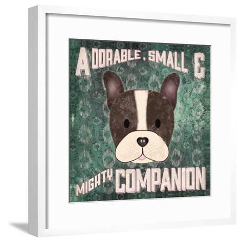 Boston Terrier-Ashley Sta Teresa-Framed Art Print