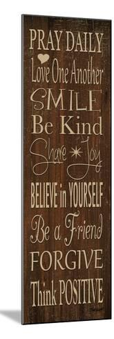 Words to Live by I-Todd Williams-Mounted Photographic Print