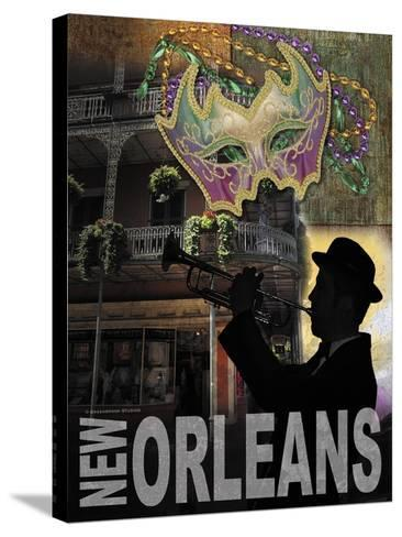 New Orleans-Todd Williams-Stretched Canvas Print