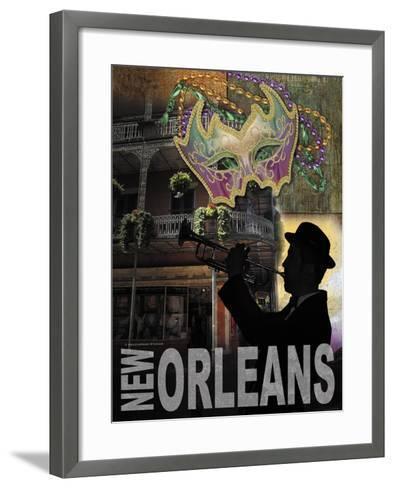 New Orleans-Todd Williams-Framed Art Print