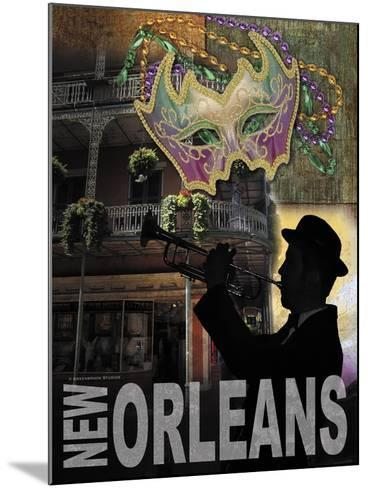 New Orleans-Todd Williams-Mounted Art Print