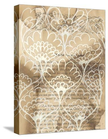 Artichoke Patterns IV-Arielle Adkin-Stretched Canvas Print
