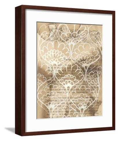 Artichoke Patterns IV-Arielle Adkin-Framed Art Print