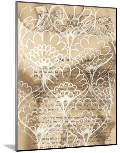 Artichoke Patterns IV-Arielle Adkin-Mounted Art Print