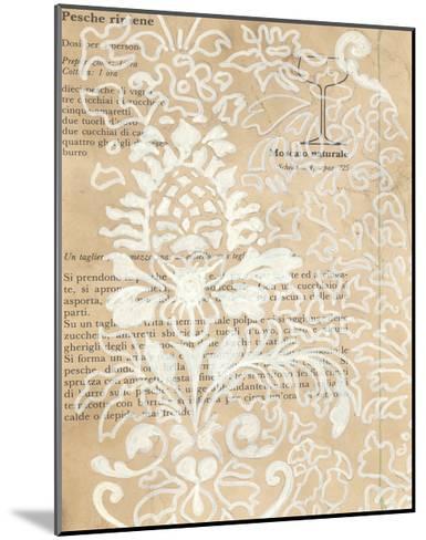 Artichoke Patterns II-Arielle Adkin-Mounted Art Print