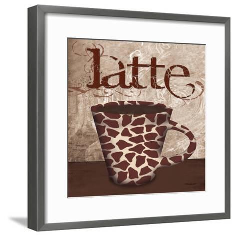 Giraffe Cafe-Todd Williams-Framed Art Print