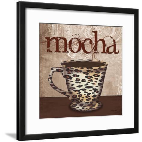 Leopard Cafe-Todd Williams-Framed Art Print