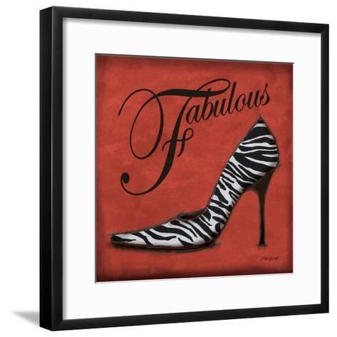 Safari Shoe II-Todd Williams-Framed Art Print