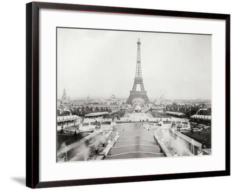 Vintage Paris V-N^ Harbick-Framed Art Print