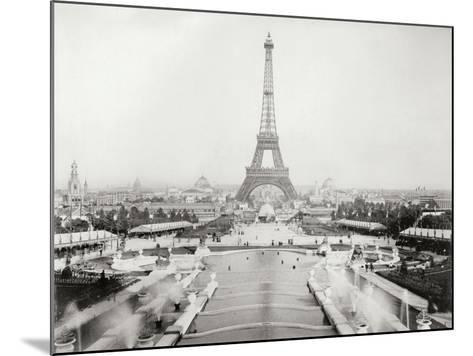 Vintage Paris V-N^ Harbick-Mounted Art Print