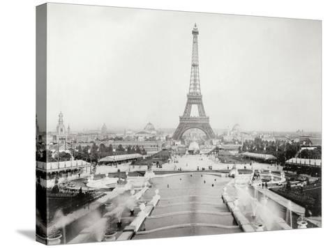 Vintage Paris V-N^ Harbick-Stretched Canvas Print