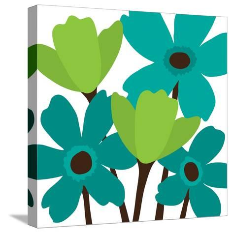 Spring Bouquet II-N^ Harbick-Stretched Canvas Print