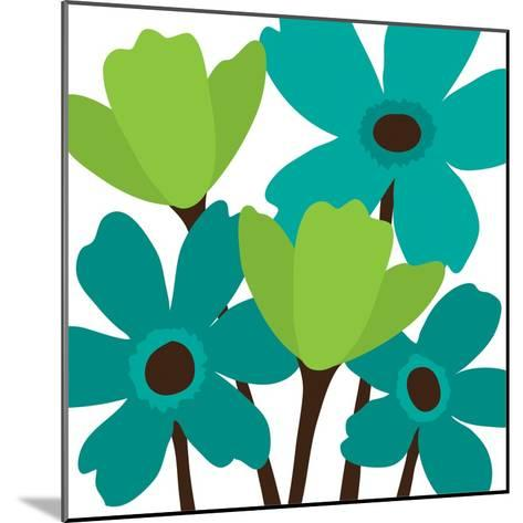 Spring Bouquet II-N^ Harbick-Mounted Art Print