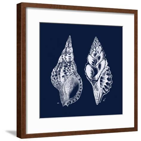 Shell Negative I-N^ Harbick-Framed Art Print