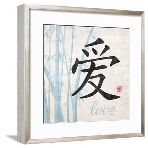Love Symbol-N^ Harbick-Framed Art Print
