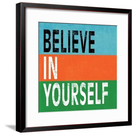 Believe in Yourself II-N^ Harbick-Framed Art Print