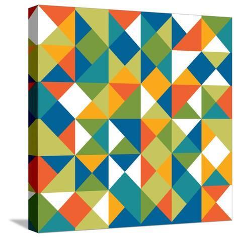 Bright Geometrics II-N^ Harbick-Stretched Canvas Print