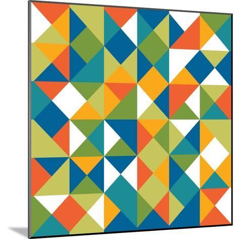 Bright Geometrics II-N^ Harbick-Mounted Art Print