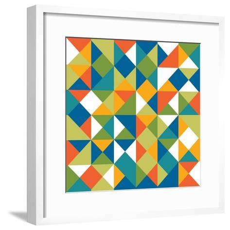 Bright Geometrics II-N^ Harbick-Framed Art Print