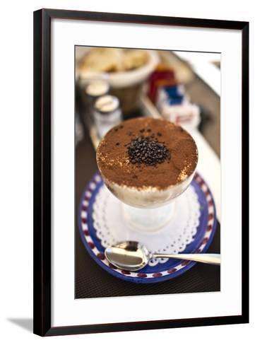Coffee in Amalfi-JoAnn T^ Arduini-Framed Art Print