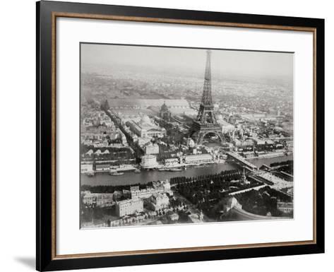 Vintage Paris I-N^ Harbick-Framed Art Print