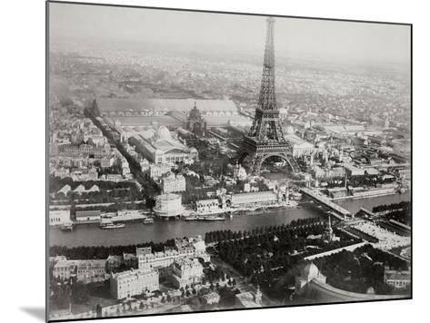 Vintage Paris I-N^ Harbick-Mounted Art Print