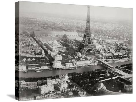 Vintage Paris I-N^ Harbick-Stretched Canvas Print
