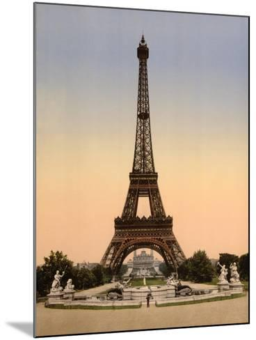 Vintage Paris IX-N^ Harbick-Mounted Art Print