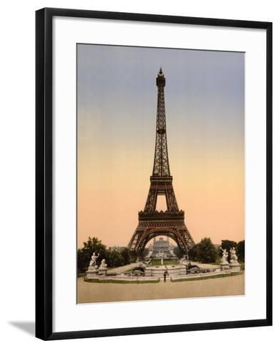 Vintage Paris IX-N^ Harbick-Framed Art Print