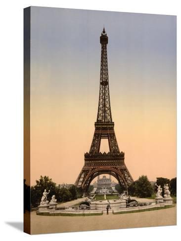 Vintage Paris IX-N^ Harbick-Stretched Canvas Print