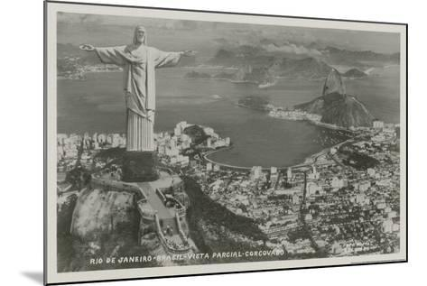 Rio-Alan Paul-Mounted Art Print