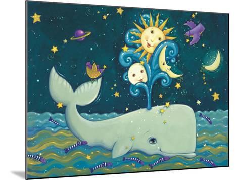Sunny Whale-Viv Eisner-Mounted Art Print