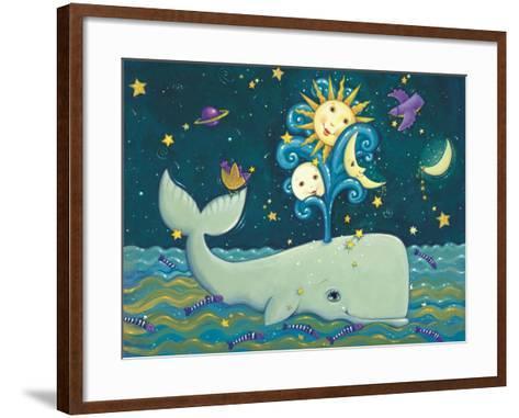 Sunny Whale-Viv Eisner-Framed Art Print